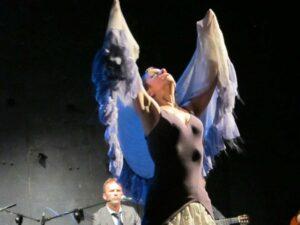 Sabina Todaro in performance